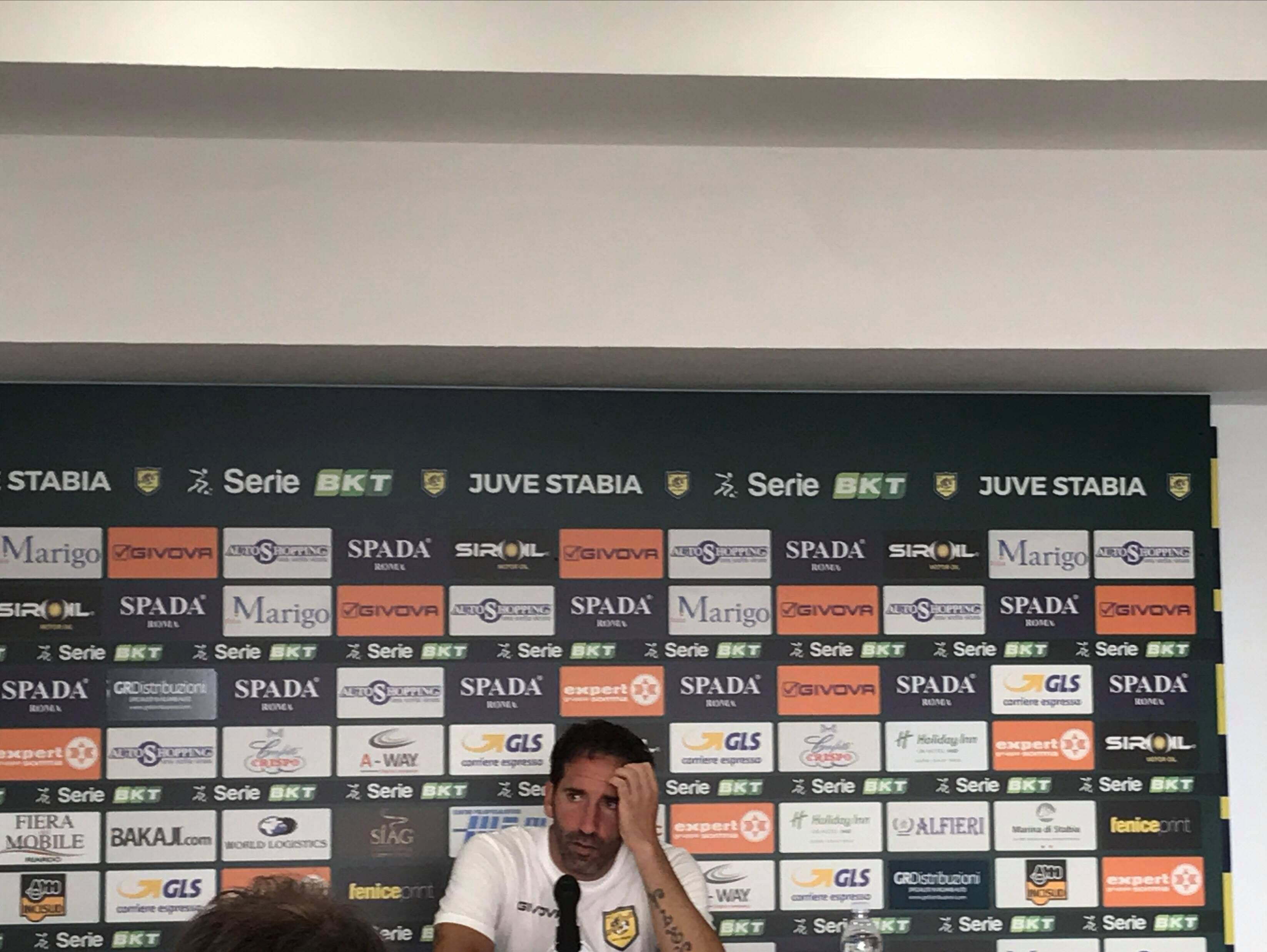 """Photo of Juve Stabia, Caserta: """"Buon primo tempo, poi nel secondo abbiamo perso la testa"""""""