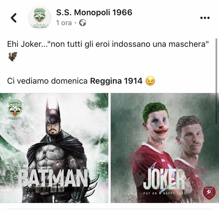 Photo of Monopoli-Reggina, inizia la sfida social tra i due club