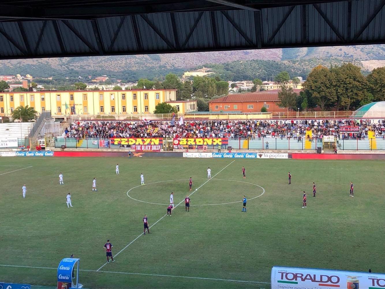 Photo of Una Casertana vogliosa ma disordinata conquista solo un punto contro la Sicula Leonzio: è 1-1