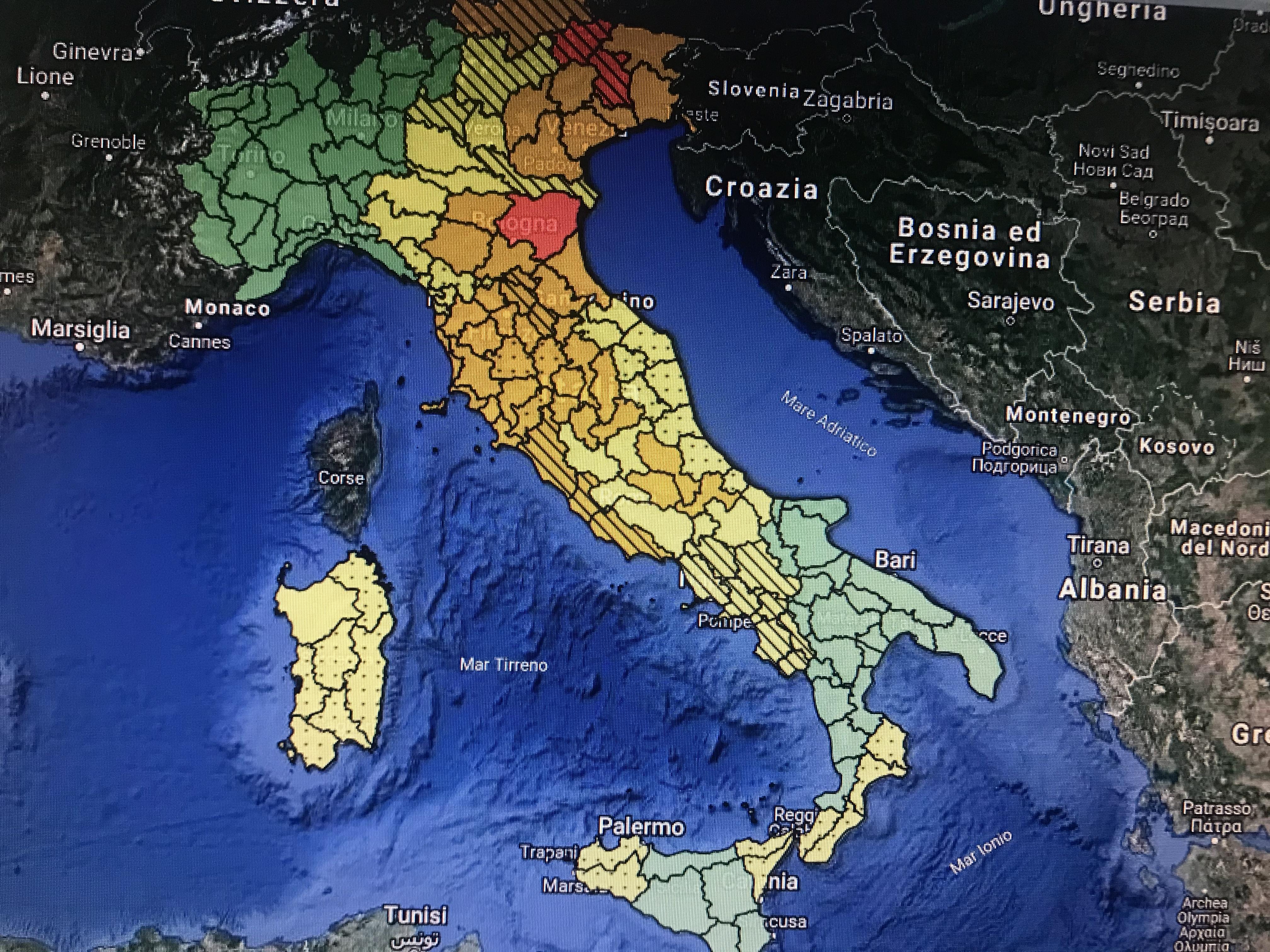 Photo of Maltempo, allerta meteo in gran parte dell'Italia: sarà una domenica fredda e piovosa