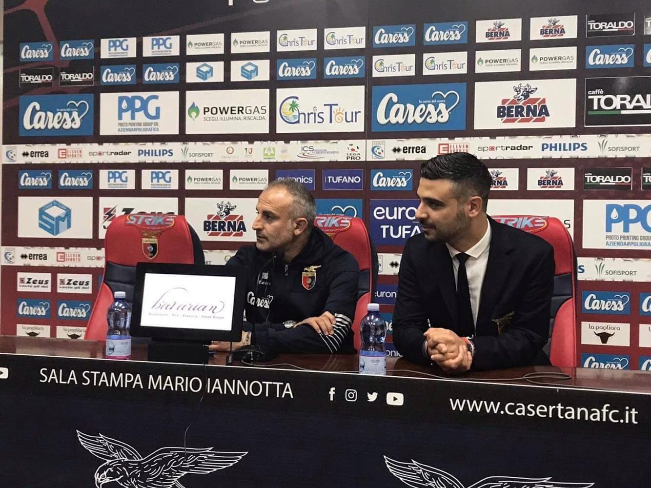 """Photo of Casertana, Di Maio: """"Contenti per il passaggio del turno, partite utili a mettere in evidenza chi gioca poco"""""""