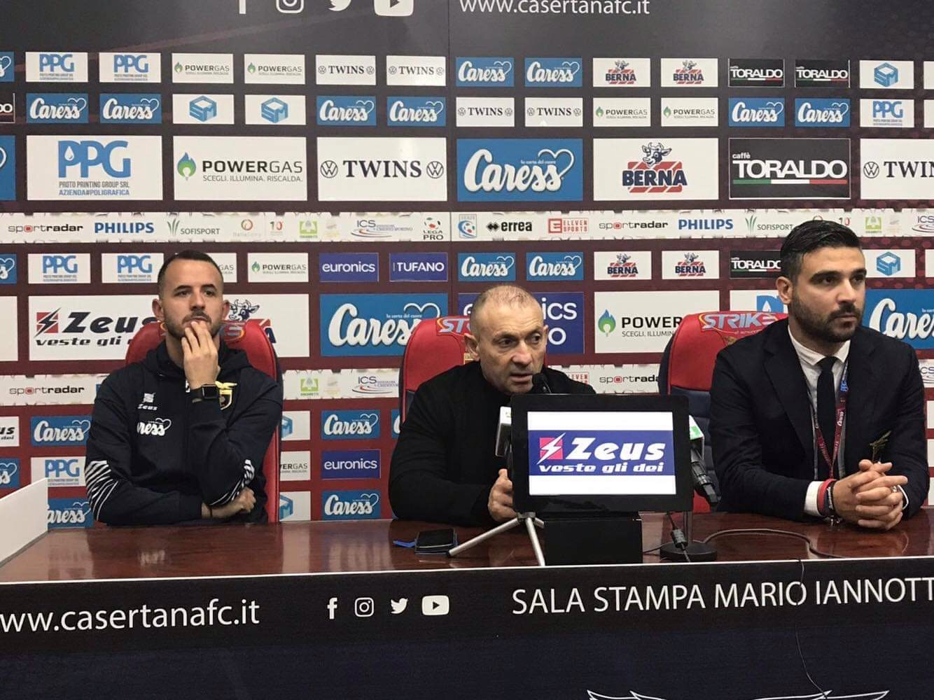Photo of Casertana, le parole di D'Agostino e Silva in conferenza