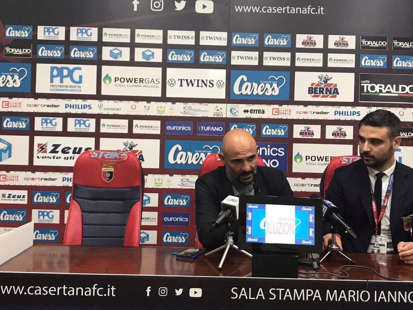 """Photo of Casertana, Ginestra: """"Contenti per la vittoria, ma non abbiamo ancora raggiunto i nostri obiettivi"""""""