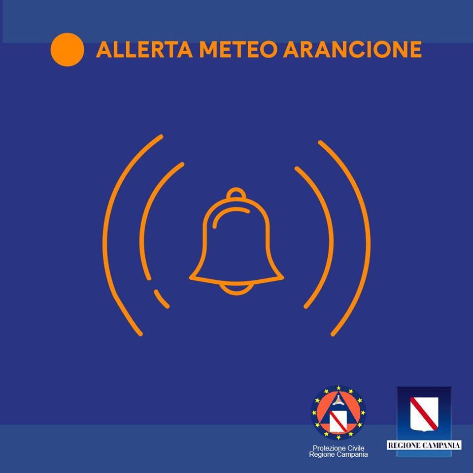 Photo of Campania, allerta meteo di livello arancione: l'avviso della Protezione Civile