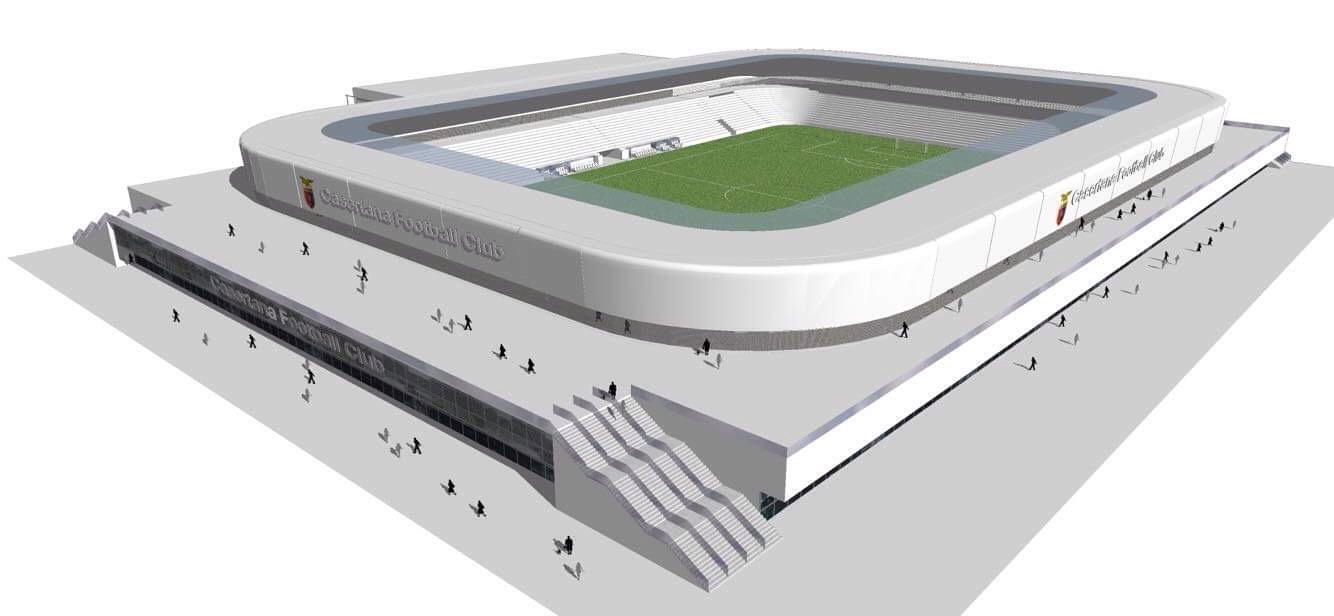 Photo of Antica passione moderna ambizione, è l'alba del 'Nuovo Stadio di Caserta'