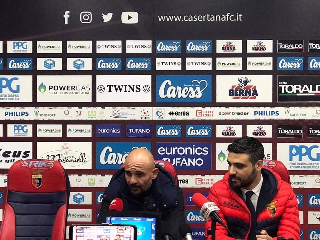 """Photo of Casertana, Ginestra: """"Ha vinto la squadra più forte, nella ripresa commessi errori che contro queste squadre sono letali"""""""
