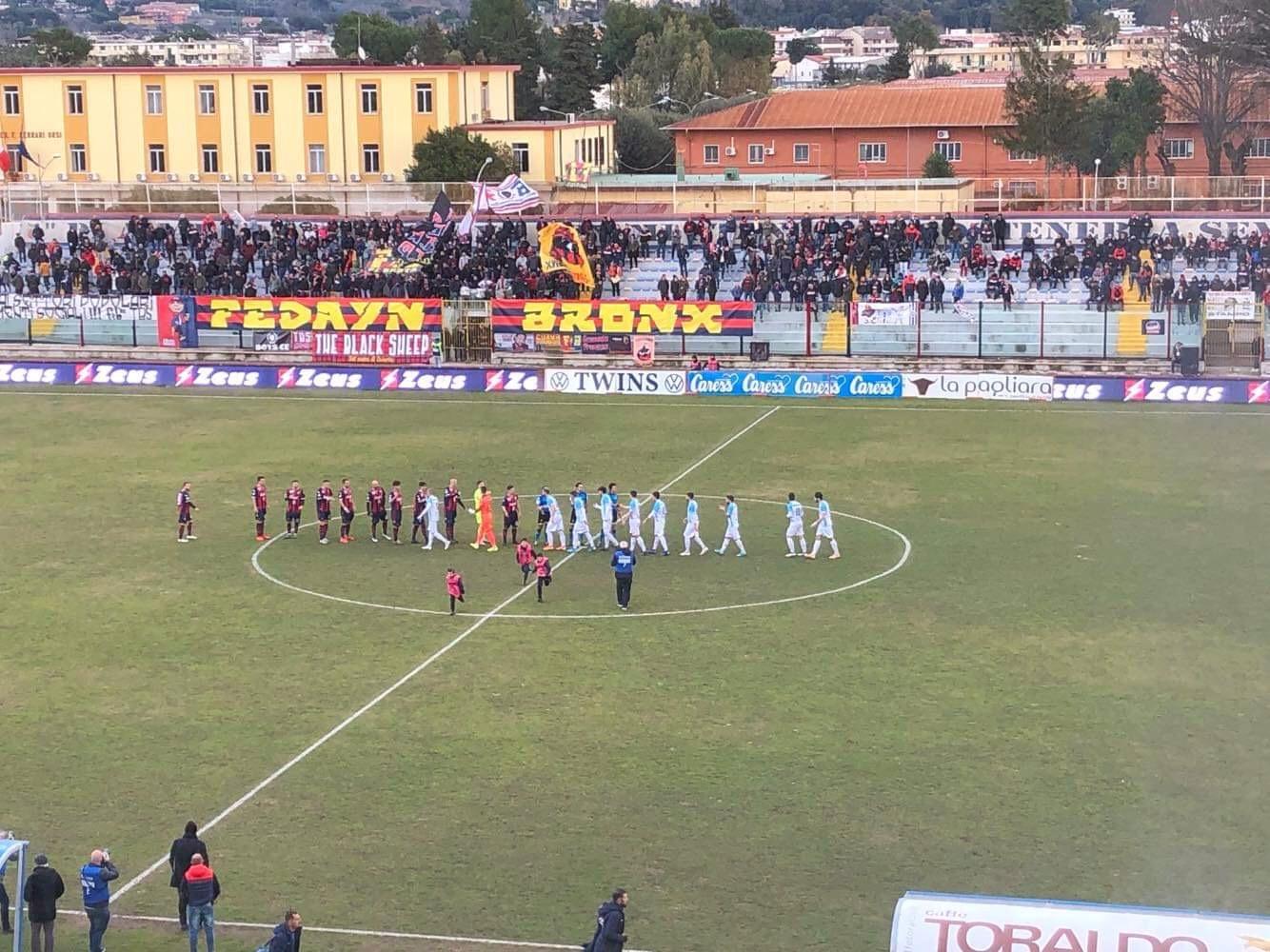 Photo of Che beffa per la Casertana, raggiunta nel finale dal rigore di Perez: è 1-1 con la Virtus Francavilla