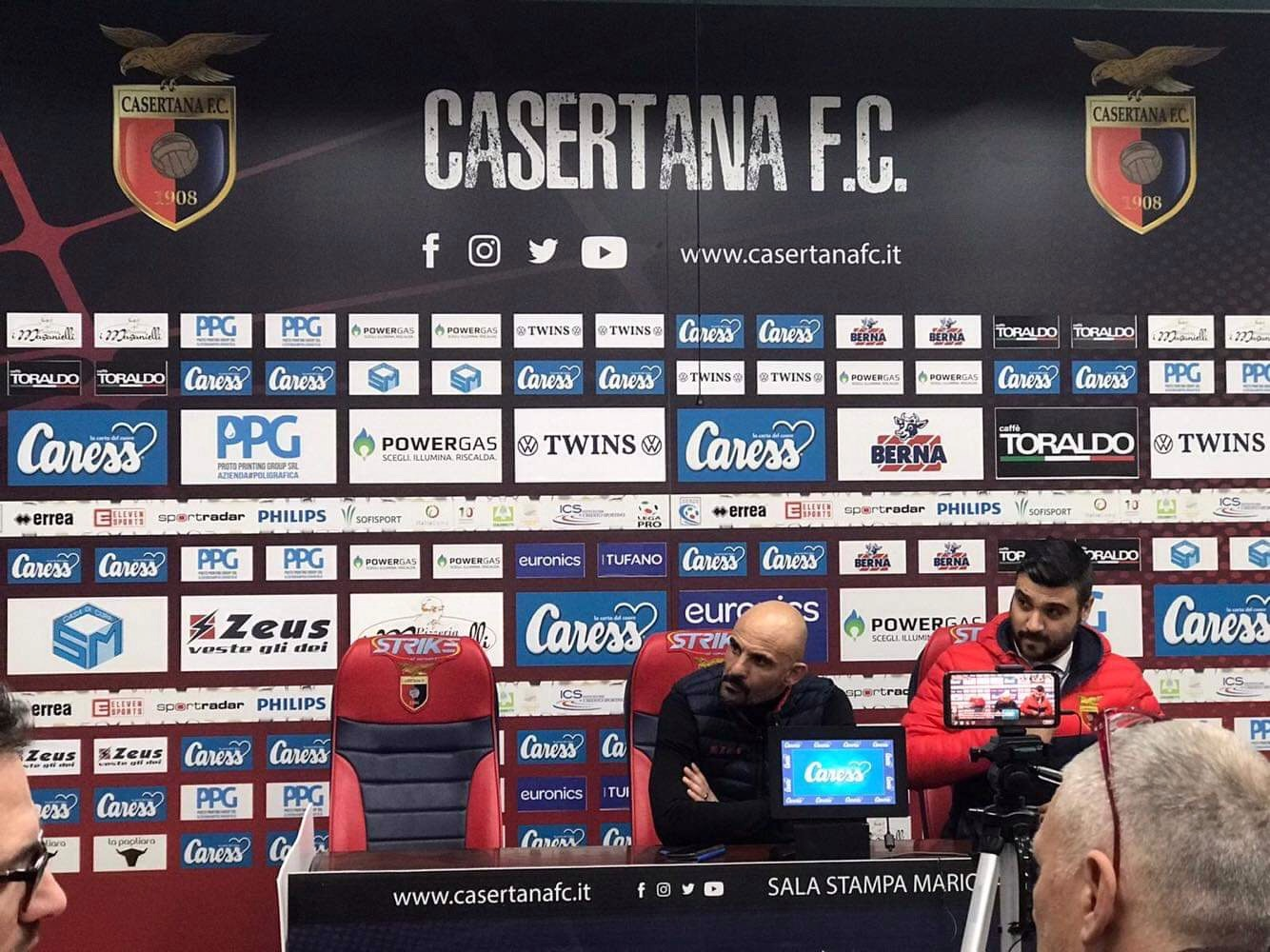 "Photo of Casertana, Ginestra: ""Serve supporto psicologico per i giovani"""