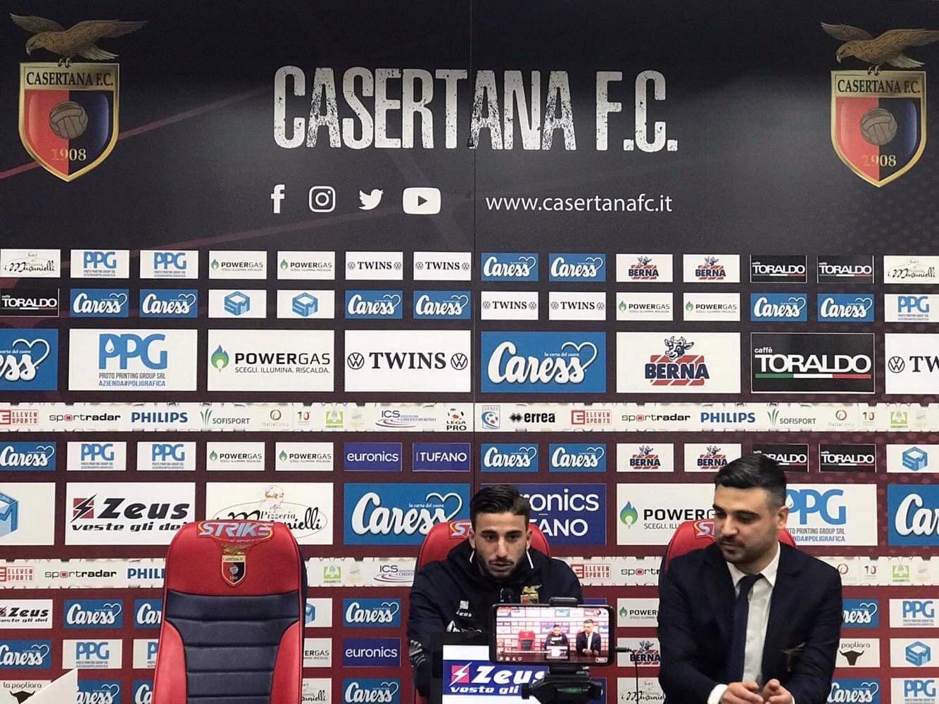 """Photo of Casertana, Starita: """"Felice per i gol, parliamo con la società del rinnovo"""""""