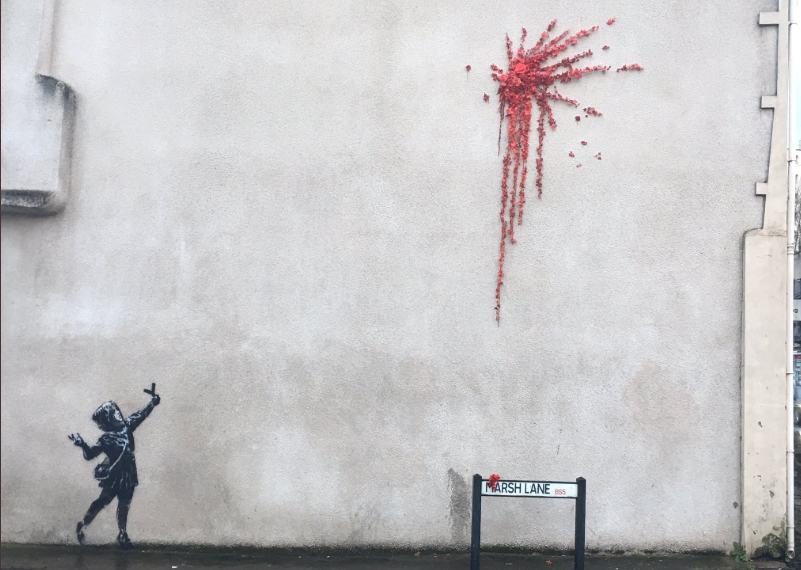 Photo of Street Art: l'opera di Banksy conquista il web